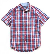 Tommy Hilfiger Men's Plaid Casual Button Down Shirts Size: M