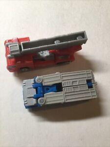 Optimus Prime and Ultra Magnus Pair 2001 Transformers Robots in Disguise Hasbro