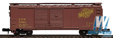 Walthers CHICAGO NORTHWESTERN #57432 40' Steel Double Door BoxCar Item #932-8306