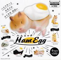 Kitan Club ham and eggs Ham Egg Gashapon 6 set mini figure capsule toys