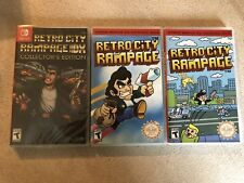 Retro City Rampage DX Switch Collector's Edition With Bonus Artwork And Cases