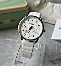 Fossil Damenuhr Uhr Armbanduhr Chronograph Edelstahl Tailor ES4223