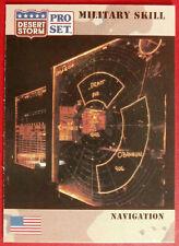 DESERT STORM - Card #169 - Military Skill: NAVIGATION - Pro-Set 1991