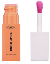 L'OREAL PARIS TINTED LIP OIL SHADE JELLY PEACH NEW AND SEALED