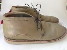 Oliberte Tan Chukka low Ankle Boots Shoes Africa Men Size  44 -US 11