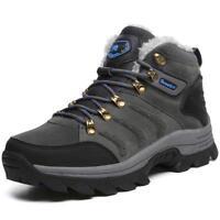Mens hiking shoes outdoor sneaker climbing moutain Trekking sneakers Fur Lining
