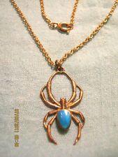 Anhänger,Bronze,1 Türkis mit Halskette,Bronze