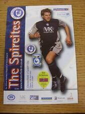 13/04/2003 Chesterfield v Cardiff City  (No Obvious Faults)