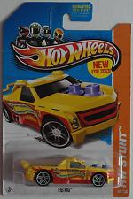 Hot Wheels - Fig Rig gelb/rot Neu/OVP US-Card