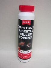 New Rentokil Carpet Moth And Beetle Bugs Killer Powder 150g
