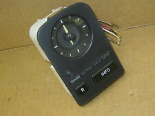 SAAB 9000 DASH CLOCK AND 2 BUTTON INFO CENTER