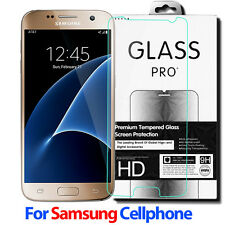 9H 2.5D Real Premium Tempered Glass Screen Protector Film For Samsung Cell Phone