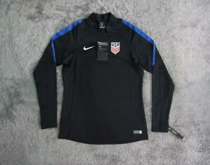 Men's Nike USA Soccer National Team Squad Training Top and Pants Black sz SMALL