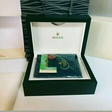 Rolex Wooden Box Set 2020 Incl. Papers, Bag and Certificate. Highest Grade.