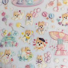 Feria divertido perros Pegatinas De Pvc Pastel Scrapbook diario Cardmaking teléfono Hazlo tú mismo