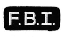 Écusson patche FBI patch thermocollant collector