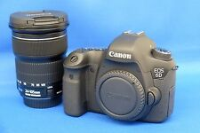 Canon EOS 6D DSLR Camera Black 20.2MP + (EF IS STM 24-105mm Lens Kit) Japan New