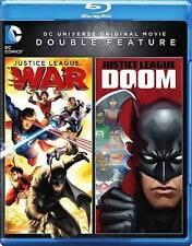 Justice League: War/Justice League: Doom (Blu-ray Disc, 2016, 2-Disc Set)