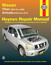 Repair Manual Haynes 72070 fits 04-14 Nissan Titan