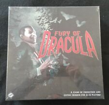 Fury of Dracula Third Edition Board Game NEW SEALED OOP FFG Games Workshop