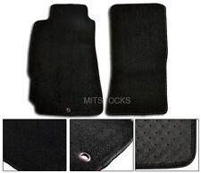 FIT FOR 04-12 MAZDA RX8 BLACK NYLON CARPET FLOOR MATS 2 PEICES NEW