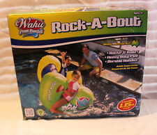 Wahu Rock-A-Bout Inflatable Pool Toy - Brand New but Damaged Packaging