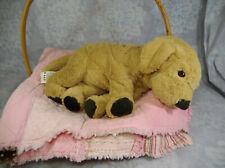 """Ikea Cosig Golden Labrador Retriever Plush 16"""""""