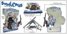 "3D Swing Cards by Santoro ""JUNGLE ANIMALS"" - #SG-SC-120"