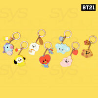 BTS BT21 Official Authentic Goods Baby Silicone Keyring + Tracking Number