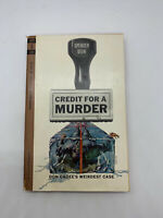Credit for a Murder Spencer Dean 1963 Vintage Mystery PB Spy Crime Cover Art AY