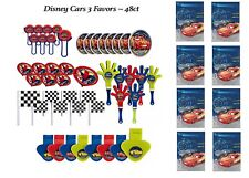(48pc) CARS 3 MC QUEEN FAVOR PACK  WITH 8 LOOT BAGS Party Supply Goody Bags