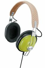 Panasonic stereo headphones RP-HTX7-G green beans F/S w/Tracking# New from Japan