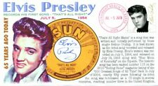 COVERSCAPE computer designed 65th of Elvis Presley's 1st recording event cover