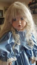 RARE Linda Rick The Doll Maker Full Porcelain Body 24 inch tall 61/1500 10/94