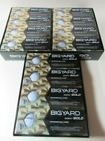 3 x 12 pack of BIGYARD NXN GOLD is the ULTIMATE New 2 piece golf balls