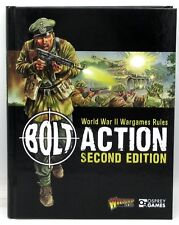 Bolt Action 2nd Edition WWII Rulebook World War II Game Rules Book Warlord Games
