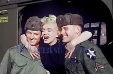 MARILYN MONROE in Korea, Korean War. 1954. 8X10 GLOSSY PHOTO PICTURE IMAGE. M295