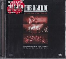The Alarm-live in the Poppy Fields CD + DVD SPECIAL EDITION NUOVO & OVP!