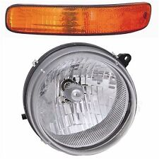 2002 2003 2004 JEEP LIBERTY HEADLIGHT & SIGNAL LAMP LIGHT LEFT DRIVER SIDE ONLY