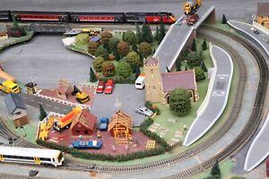 oo gauge model railway layout
