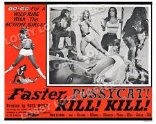 FASTER PUSSYCAT KILL KILL LOBBY SCENE CARD # 2 POSTER 1965 TURA SATANA HAJI