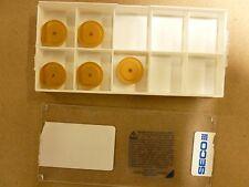 5Pc Seco Round Duratomic Carbide Milling Inserts REHR1605MOT-M14 T25M P/N 16758