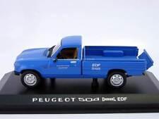 Peugeot 504 Pick-Up Dangel EDF 1996 blue Norev 1:43 i-modelcars