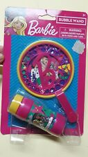 Barbie Bubble Wand + Bubbles 2 Fl Oz New Sealed Kids Character Toy Classic Fun