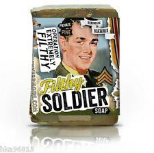 Filthy Soldier - Filthy Farmgirl Natural Bar Soap Sandalwood Frankincense Cedar