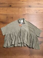 Authentic LA CABANE DE STELLA Blouse Size 1TUNI01 RARE!