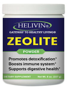 Helivin Zeolite for Detoxification – 8 oz. powder