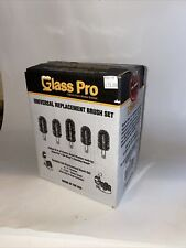 Glass Pro Universal Brush Set for Electric Glass Washers