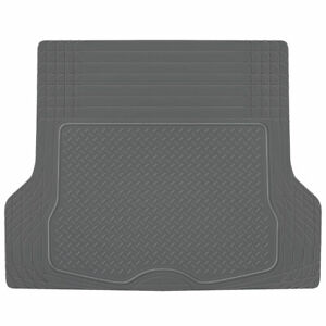 Cargo Trunk Floor Mat Liner for Car SUV Truck All Weather Semi Custom Fit Gray