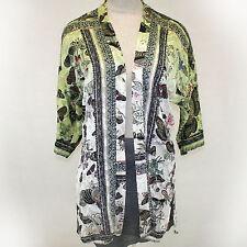NEW NWT Citron Clothing Plus Size Butterflies Burnout Open Cardigan Blouse 1X